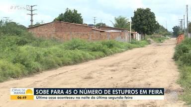Insegurança: cresce o número de casos de estupro em Feira de Santana - Somente em uma rua da cidade foram registrados 3 casos, que estão sendo investigados pela Polícia Civil.