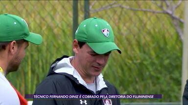 Lucão é apresentado como novo reforço do Fluminense e Fernando Diniz é cobrado pela diretoria - Lucão é apresentado como novo reforço do Fluminense e Fernando Diniz é cobrado pela diretoria