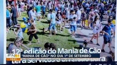 População já pode se inscrever para participar do Mania de Cão - Tradicional evento da TV Fronteira será dia 1º de setembro.