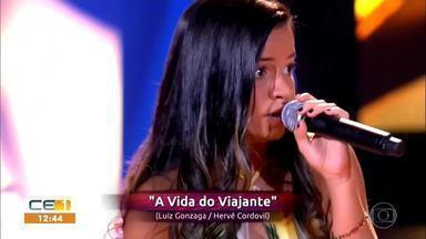 Cratense Heloísa Ribeiro é mais uma representante do Cariri no The Voice Brasil - Saiba mais em g1.com.br/ce
