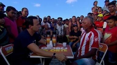 Caldinho do GE: quem dá a letra em Gaibu é a torcida do Náutico - Resenha mais animada do futebol pernambucano mostra uma pegada bem praieira