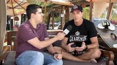 De férias, Felipe Ribeiro aproveita kitesurf e fala sobre basquete - De férias, Felipe Ribeiro aproveita kitesurf e fala sobre basquete