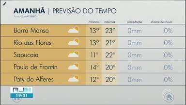 Temperaturas continuam baixas nesta quinta-feira no Sul do Rio - Confira como ficam os termômetros em algumas cidades da região.