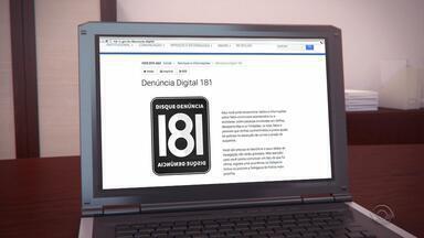 Site Denúncia Digital já recebeu mais de 50 informações de crimes em menos de uma semana - Site é mais um meio de denunciar crimes e dar informações para a polícia.