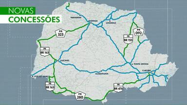 Paraná terá mais rodovias pedagiadas - Seis novos trechos serão licitados até 2021.
