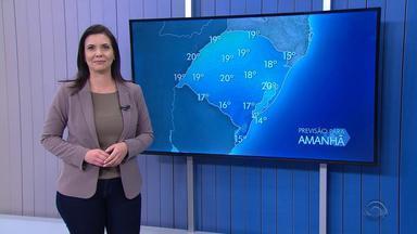 Sol predomina no RS nesta quinta-feira (15) e temperaturas começam subir - Assista ao vídeo.