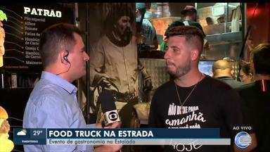Estacionamento da Ponte Estaiada recebe evento Food Truck na Estrada - Estacionamento da Ponte Estaiada recebe evento Food Truck na Estrada