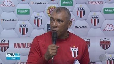Botafogo-SP terá comando de Hemerson Maria em jogo contra Sport - Partida deve marcar estreia do professor no Pantera.