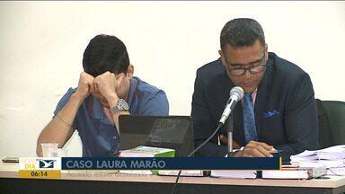 Acusado de matar criança em acidente de trânsito é condenado em São Luís - Carlos Diego Araújo Almeida foi condenado a 11 anos e 1 mês de reclusão por homicídio doloso de Laura Marão e por lesão corporal grave do irmão dela, Felipe Marão.