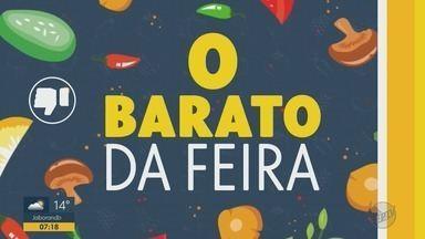 Barato da Feira: confira preços de verduras, legumes e frutas nas feiras em Ribeirão Preto - Limão taiti, manga palmer e banana prata são alguns dos alimentos que estão mais em conta.
