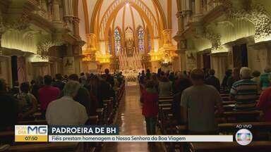 Igreja Católica celebra Nossa Senhora da Boa Viagem, em BH - Celebração, presidida pelo arcebispo dom Walmor Oliveira de Azevedo, reunirá bispos, padres, evangelizadores consagrados e fiéis leigos.