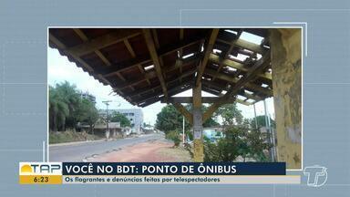 Confira a participação dos telespectadores do Bom Dia Tapajós desta quinta-feira - Veja flagrantes e denúncias na participação dos telespectadores.