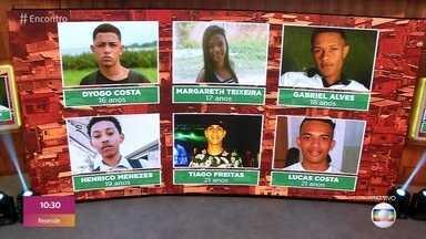 'Encontro' discute os números da violência contra jovens - Nos últimos 6 dias, 6 jovens morreram vítimas de bala perdida no estado do Rio de Janeiro
