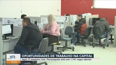 Florianópolis tem mais de 1,7 mil vagas de emprego abertas - Florianópolis tem mais de 1,7 mil vagas de emprego abertas