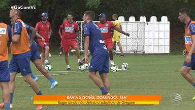 Bahia tem novidades no elenco para jogo contra o Goiás, no próximo domingo - Nino Paraíba, Juninho, Guerra, Fernandão e Artur devem retornar aos gramados.