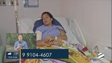 Mãe ferida em incêndio no Santo Antônio segue internada - Médica fala sobre o atendimento para vítimas de queimaduras