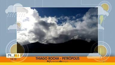 Confira a previsão do tempo para esta quinta-feira (15) no interior do Rio - Assista a seguir.