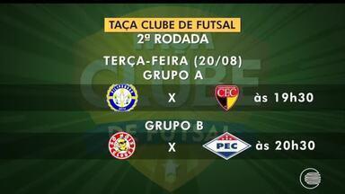 Confira os próximos jogos da Taça Clube de Futsal - Confira os próximos jogos da Taça Clube de Futsal