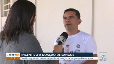 Torcida organizada do Palmeiras em RR realiza ação de doação de sangue. - Ação será realizada de forma simultânea em todas as cidades do país onde houver consulado do Palmeiras. Quem não for palmeirense também pode doar.