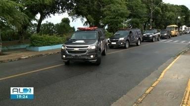 21 pessoas são presas em operação do Gaeco contra o crime organizado - Mandados foram cumpridos em Maceió e mais 7 municípios.