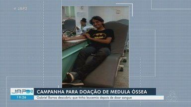 Família de jovem que morreu com leucemia faz campanha para doação de sangue no AP - Gabriel Barros morreu em fevereiro, mas deixou ensinamentos para ajudar ao próximo.