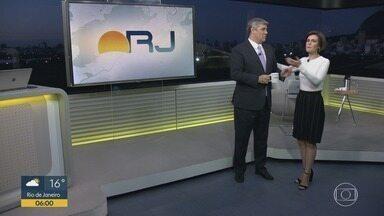 Bom Dia RJ - Edição de sexta-feira, 16/08/2019 - As primeiras notícias do Rio de Janeiro, apresentadas por Flávio Fachel, com prestação de serviço, boletins de trânsito e previsão do tempo.