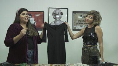 'Expresso da Moda' ensina a customizar vestido pretinho básico - 'Expresso da Moda' ensina a customizar vestido pretinho básico