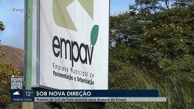 Secretario da Fazenda de Juiz de Fora é o novo diretor-presidente da Empav - Fúlvio Albertoni vai acumular cargos. Medida faz parte da reestruturação da empresa anunciada nesta sexta (16) pela Prefeitura.
