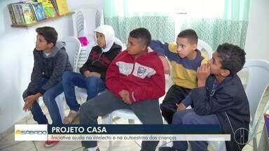 Iniciativa ajuda no intelecto e na autoestima das crianças - Projeto Casa fica em Nova Friburgo.