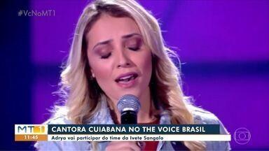 Cantora cuiabana está no time da Ivete no The Voice Brasil - undefined
