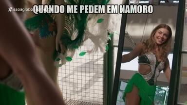 'Isso a Globo Não Mostra' #31: meme namoro - No quadro de humor do Fantástico, veja as notícias da semana tratadas de uma forma leve, além de brincadeiras com cenas exibidas na programação da Globo.