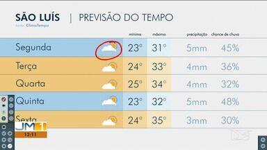 Confira as variações do tempo nesta segunda-feira (19) no Maranhão - Veja como deve ficar o tempo e a temperatura em São Luís e no Maranhão.