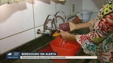 Abastecimento pode ficar comprometido em Bebedouro por causa de tempo seco - Prefeitura irá aplicar multas a quem desperdiçar água.
