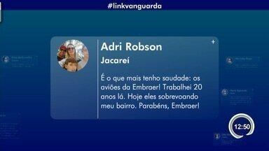 Confira participação do público no Link Vanguarda - Público interage pelas redes sociais.