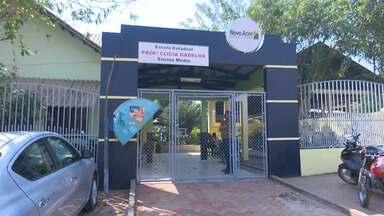 Vândalos invadem escola de Rio Branco, preparam comida e deixam bagunça em cozinha - Vândalos invadem escola de Rio Branco, preparam comida e deixam bagunça em cozinha