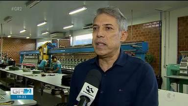 Empresários do japão e dos EUA foram conhecer o setor têxtil de Santa Cruz do Capibaribe - As empresas têm investido cada vez mais em novas tecnologias.