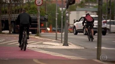 São Paulo tem 25 ciclistas mortos entre janeiro e julho de 2019 - Segundo os dados do Infosiga, as mortes no trânsito aumentaram no ABC.