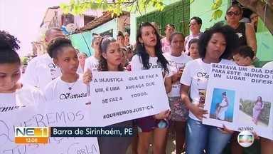 Mulher morre após complicações em parto e família faz protesto contra hospital - Secretaria de Saúde de Sirinhaém afastou quatro profissionais e abriu sindicância.