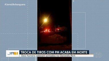 Adolescente morre após troca de tiros com a polícia, em Aparecida de Goiânia - Segundo a polícia, jovem de 17 anos tinha passagem por receptação, roubo e lesão corporal.