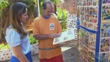 Catador de recicláveis usa a leitura para para transformar a vida dos filhos - Um catador de recicláveis, analfabeto, que mora em Bauru (SP), resolveu utilizar a leitura para modificar a vida dos filhos.
