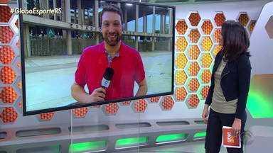 2,5 mil colorados devem acompanhar o Inter no Maracanã nesta quarta - Assista ao vídeo.