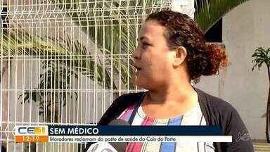 Moradores reclamam de falta de médico no posto de saúde do Cais do Porto - Saiba mais em g1.com.br/ce