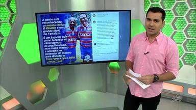 Fortaleza anuncia Adalberto como zagueiro e Clodoaldo e Rinaldo para a Fares Lopes - Defensor estava no ABC e chega para a disputa da Série A; já a dupla de atacantes, ídolos da torcida tricolor, vai disputar a Taça Fares Lopes