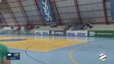 Copa da Juventude de Futsal inicia na capital - Os primeiros jogos da competição acontecem nesta terça-feira no ginásio do Sesc.