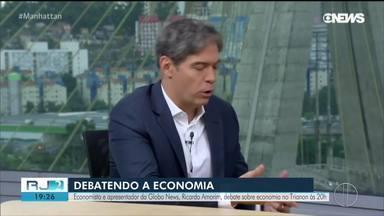 Economista e apresentador da Globo News, Ricardo Amorim debate sobre economia no Trianon - Evento será nesta terça-feira (20) às 20h.