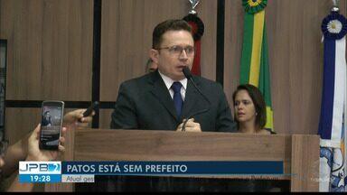 JPB2JP: Patos está sem prefeito - Atual gestor interino renunciou ao cargo e 2 secretários vão assumir a Prefeitura.