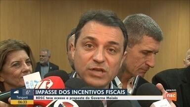 BDSC tem acesso a proposta de Carlos Moisés sobre o impasse dos incentivos fiscais - BDSC tem acesso a proposta de Carlos Moisés sobre o impasse dos incentivos fiscais
