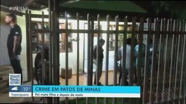 PM dá detalhes sobre morte de criança e pai em Patos de Minas - Homem matou o filho e depois tirou a própria vida. Corpos foram encontrados pela esposa.