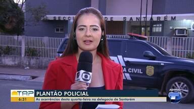 Plantão policial: confira as principais ocorrências desta quarta-feira - Confira os destaques com Cissa Loyola.