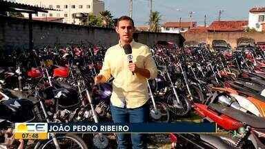 Detran faz leilão de carros e motos em Fortaleza - Saiba mais em g1.com.br/ce